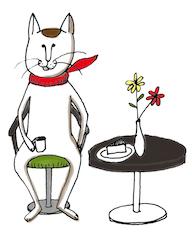 保護犬保護猫カフェ